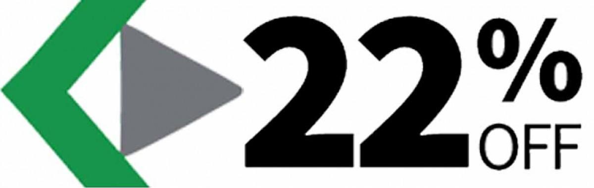 22 درصد تخفیف کازیو